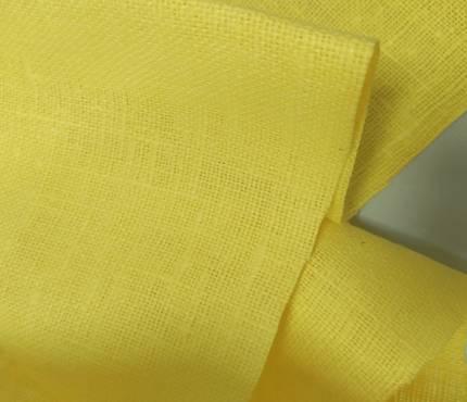 Мешковина для декора 4с81 - желтый
