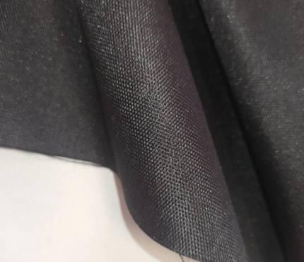 черная ткань с ПВХ пкорытием