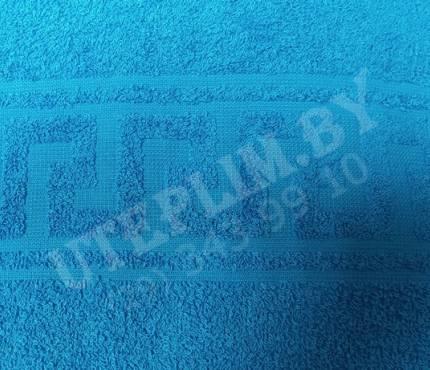 Махровые - голубое