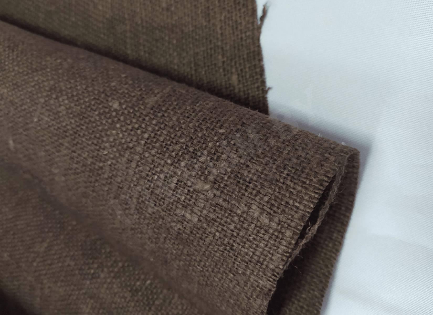 Мешковина для декора 4с81 - коричневый