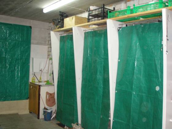 Шторы для гаража - Тарпикс