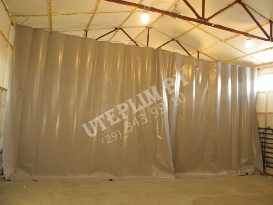 Промышленные шторы - материал ПВХ